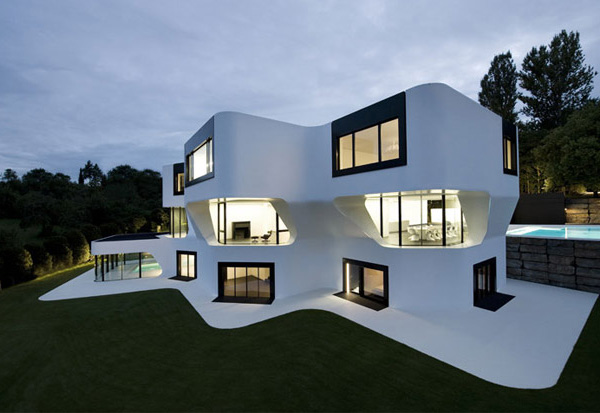 Modern Residential Architecture in Germany DupliCasa futuristic