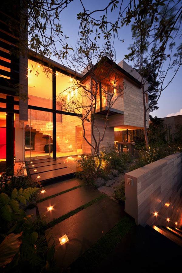 earthy elegant house mexico 7