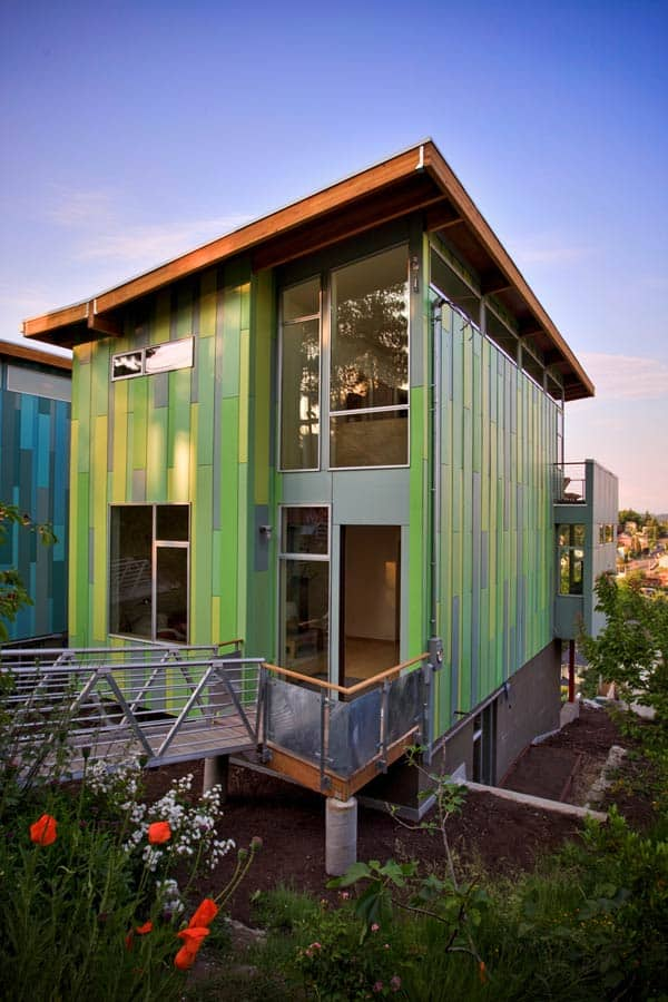 Eco affordable homes green in more ways than one for Cheap modern home decor uk