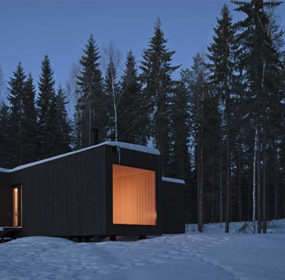 Eco Chic Home Design: Amazing Finland Cabin!