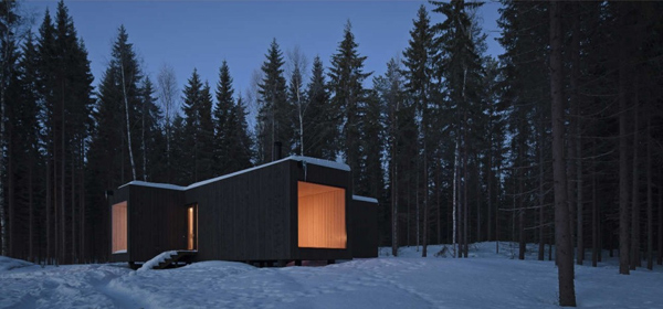 eco chic home design cool finland cabin 1 Eco Chic Home Design: Amazing Finland Cabin!