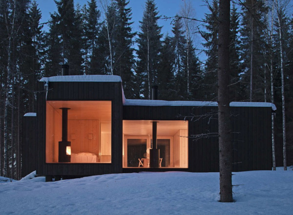 eco chic home design cool finland cabin 2 Eco Chic Home Design: Amazing Finland Cabin!