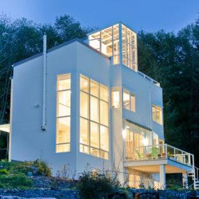 Elegant Eco Home with Fireman's Pole rocks!