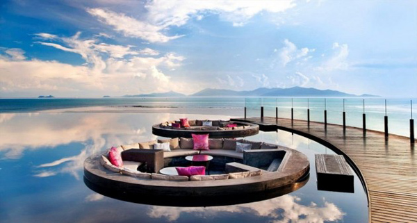 Exotic Island Residences Offer Modern Outdoor Living