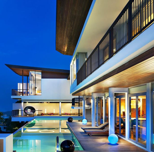 exotic island residences offer modern outdoor living 2 Exotic Island Residences Offer Modern Outdoor Living