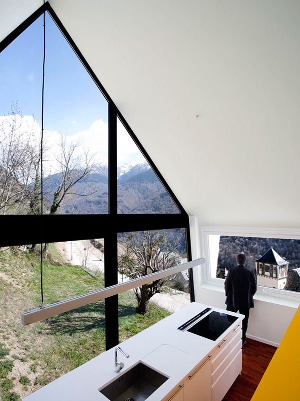 Extraordinary House Design With Extraordinary Views Of