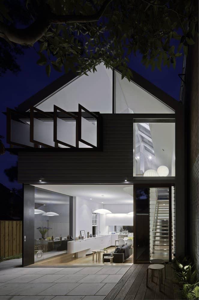 Pivot Windows Bring Air and Unique Look