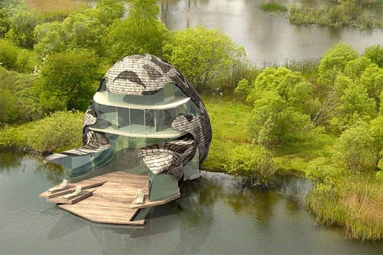 featherstone associates orchid house 1 Sustainable Luxury Eco Estate in UK – $14.2 million Orchid House