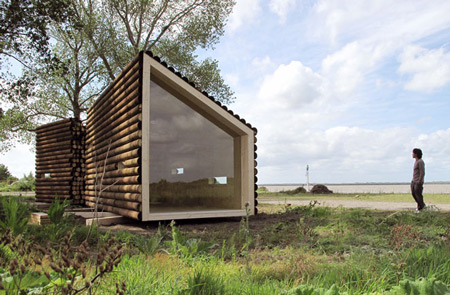 flake house 3 Movable Home by French Architecture Firm for poets only?