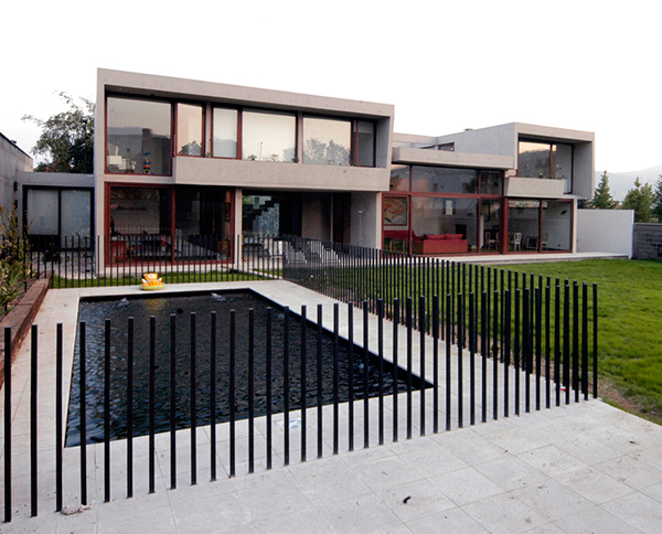 fleischmann ossa house 6 Concrete Home Architecture Decorated with ... Sunlight