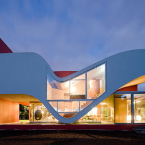 Flight of a Bird- Organically Shaped Residence