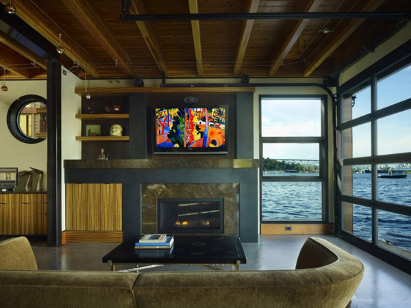 floating lake house boat inspired living 3