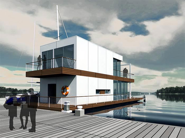 floating water home 1
