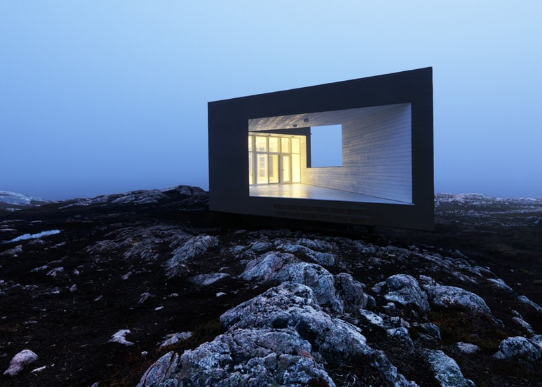 Fogo Island Cabins by Saunders Architecture