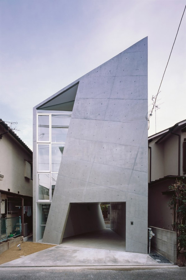 folded houses cool japan architecture design 1 Folded Houses: Cool Japan Architecture Design