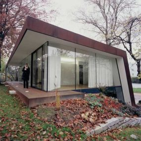 Folded Roof House Blends Old and New