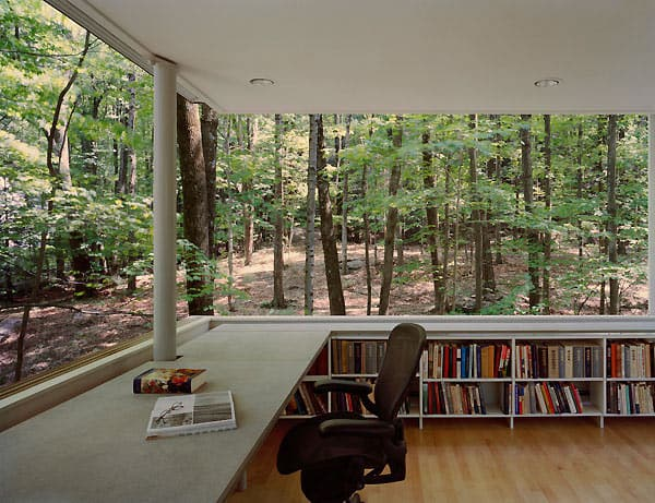 forest book nook gluck partners 2 Have a wooded lot? Time to build a forest book nook!