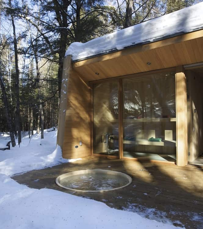 Forest Getaway Cabin With Sauna Sunken Hot Tub