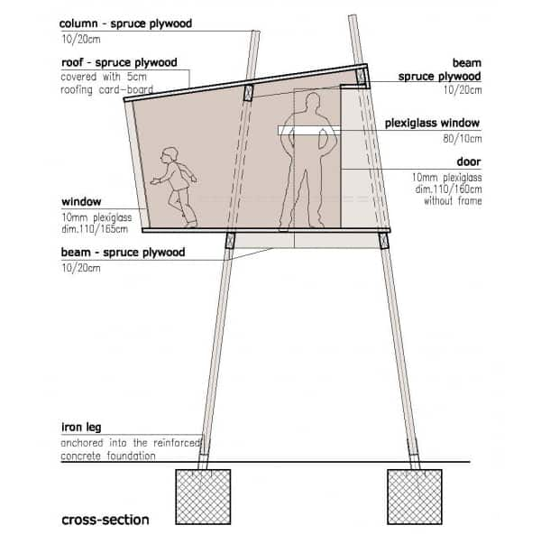 Free standing tree house how to build pictures for Free treehouse plans and designs
