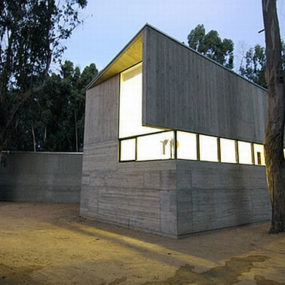 Concrete House in Rural Chile Designed as Fortified Home