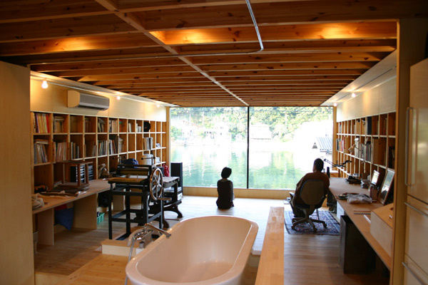 Japanese House Inside futuristic eco friendly housejapanese advertising firm