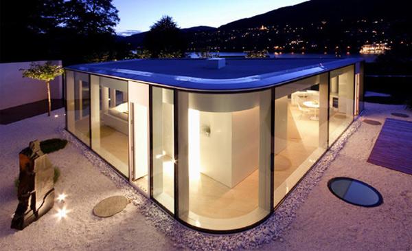 futuristic glass architecture modern switzerland house 2