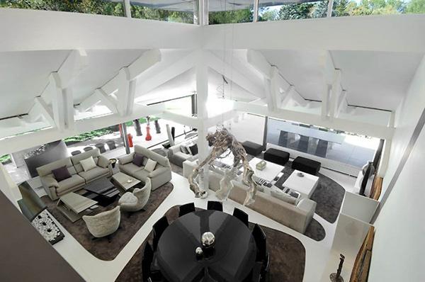 futuristic house where contemporary art meets modern living 4