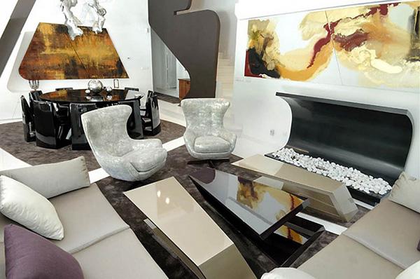 futuristic house where contemporary art meets modern living 7