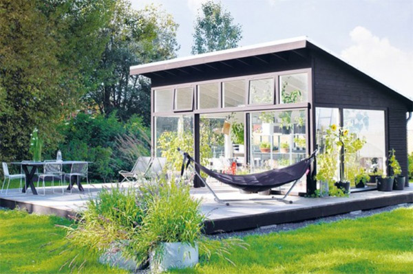Garden Home Designs – Greenhouse Architecture