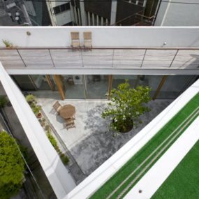 Cool Modern Home with Hidden Interior Garden