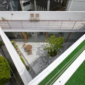 Cool Modern Home with Hidden Interior Garden