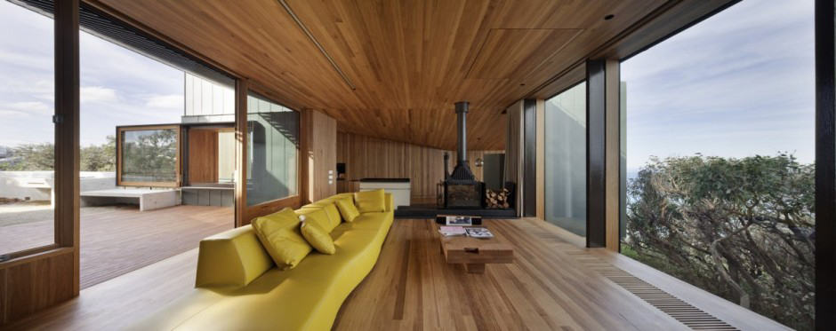 wood interior homes geometric house with zinc exterior wood interior 15468