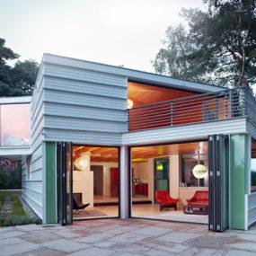 Geometric House Architect Designs German Lakefront Retreat