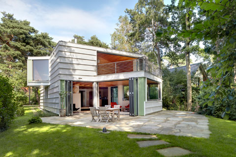 Geometric House Architect German Lakefront Retreat 8