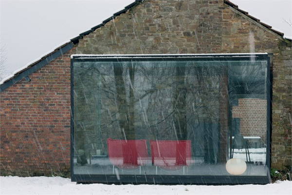 glass and brick houses belgium 1
