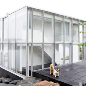 Glass Cube House – Canadian Lakehouse