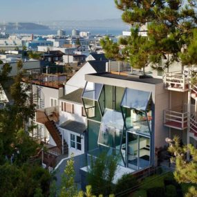 Glass house zigzags its way into the San Francisco landscape