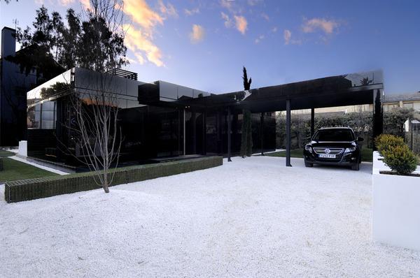modular homes design. Glass Prefab Homes  Black Modular Home Design By A Cero