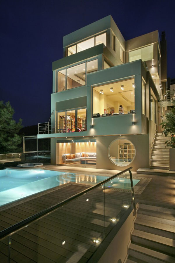 view in gallery greek luxury homes 1 greek luxury homes a godly domain inside and out - Inside Modern Luxury Homes