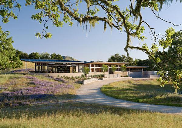 green california house design 1 Clean, Green California House Design