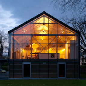 Modern Eco Home – a Livable Sustainable Greenhouse in Belgium