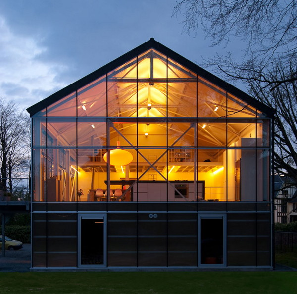 greenhouse 1 Modern Eco Home   a Livable Sustainable Greenhouse in Belgium