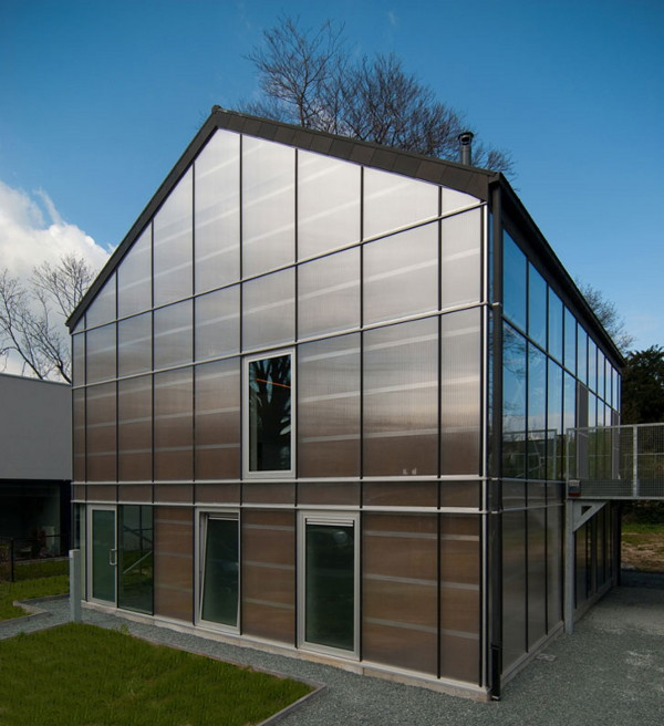 Modern Eco Home A Livable Sustainable Greenhouse In Belgium