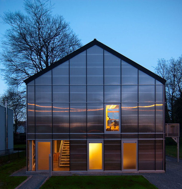 greenhouse 2 Modern Eco Home   a Livable Sustainable Greenhouse in Belgium