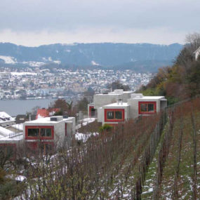 Luxury Concrete Fortress on Lake Zurich, Switzerland – we like concrete!