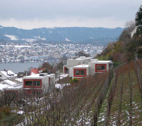 Luxury Concrete Fortress On Lake Zurich Switzerland We Like Concrete