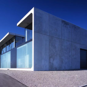 Intriguing Concrete Design for a residential home