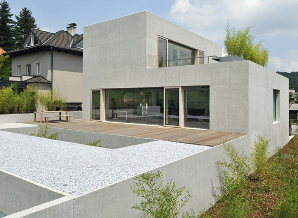 Multi Level House Design In Ljubljana Slovenia Puzzles