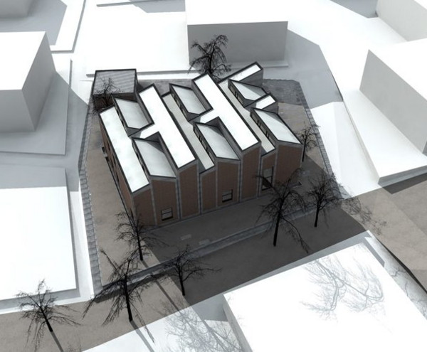 hhf house 1 Earthquake Proof House Design in China   HHF branded home in Ordos, Inner Mongolia