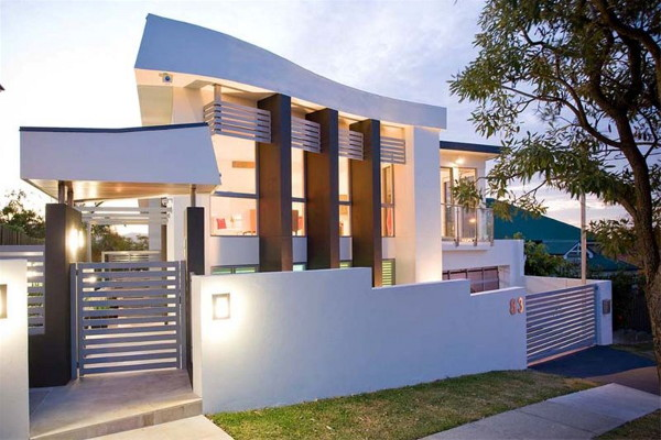 highgate hill house 1 Cutting Edge Modernist Style House in Brisbane, Australia
